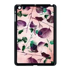 Spiral Eucalyptus Leaves Apple Ipad Mini Case (black) by DanaeStudio