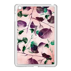Spiral Eucalyptus Leaves Apple Ipad Mini Case (white) by DanaeStudio