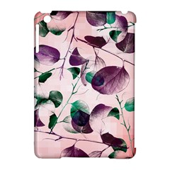 Spiral Eucalyptus Leaves Apple Ipad Mini Hardshell Case (compatible With Smart Cover) by DanaeStudio
