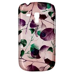 Spiral Eucalyptus Leaves Samsung Galaxy S3 Mini I8190 Hardshell Case by DanaeStudio