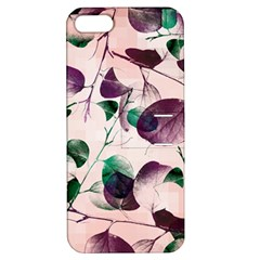 Spiral Eucalyptus Leaves Apple Iphone 5 Hardshell Case With Stand by DanaeStudio