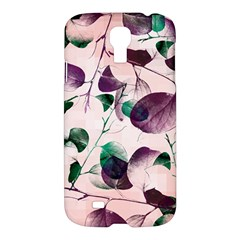Spiral Eucalyptus Leaves Samsung Galaxy S4 I9500/i9505 Hardshell Case by DanaeStudio