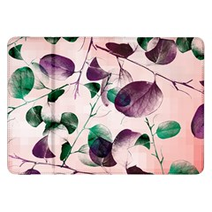 Spiral Eucalyptus Leaves Samsung Galaxy Tab 8 9  P7300 Flip Case by DanaeStudio