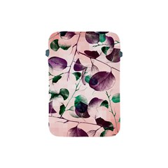 Spiral Eucalyptus Leaves Apple Ipad Mini Protective Soft Cases by DanaeStudio