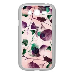 Spiral Eucalyptus Leaves Samsung Galaxy Grand Duos I9082 Case (white) by DanaeStudio