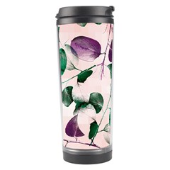 Spiral Eucalyptus Leaves Travel Tumbler by DanaeStudio