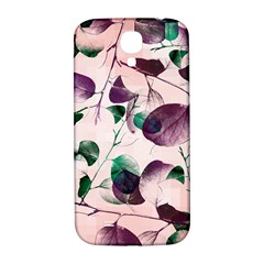 Spiral Eucalyptus Leaves Samsung Galaxy S4 I9500/i9505  Hardshell Back Case by DanaeStudio