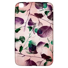 Spiral Eucalyptus Leaves Samsung Galaxy Tab 3 (8 ) T3100 Hardshell Case  by DanaeStudio