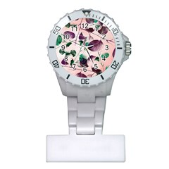 Spiral Eucalyptus Leaves Plastic Nurses Watch