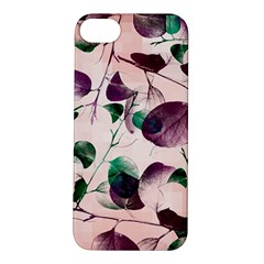 Spiral Eucalyptus Leaves Apple Iphone 5s/ Se Hardshell Case by DanaeStudio