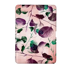 Spiral Eucalyptus Leaves Samsung Galaxy Tab 2 (10 1 ) P5100 Hardshell Case  by DanaeStudio