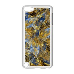 Antique Anciently Gold Blue Vintage Design Apple Ipod Touch 5 Case (white) by designworld65
