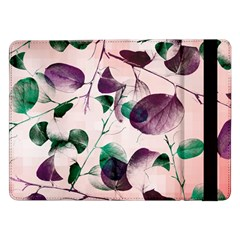 Spiral Eucalyptus Leaves Samsung Galaxy Tab Pro 12 2  Flip Case by DanaeStudio