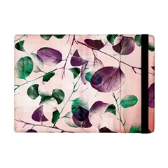 Spiral Eucalyptus Leaves Ipad Mini 2 Flip Cases by DanaeStudio
