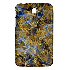 Antique Anciently Gold Blue Vintage Design Samsung Galaxy Tab 3 (7 ) P3200 Hardshell Case  by designworld65