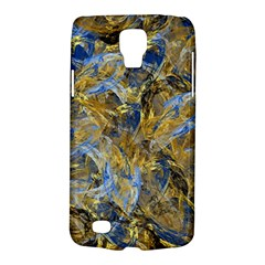 Antique Anciently Gold Blue Vintage Design Galaxy S4 Active by designworld65