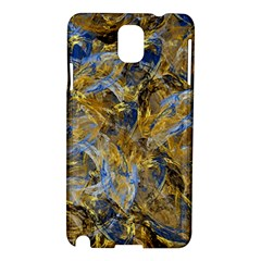 Antique Anciently Gold Blue Vintage Design Samsung Galaxy Note 3 N9005 Hardshell Case by designworld65