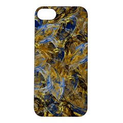 Antique Anciently Gold Blue Vintage Design Apple Iphone 5s/ Se Hardshell Case by designworld65