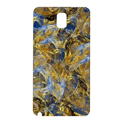 Antique Anciently Gold Blue Vintage Design Samsung Galaxy Note 3 N9005 Hardshell Back Case