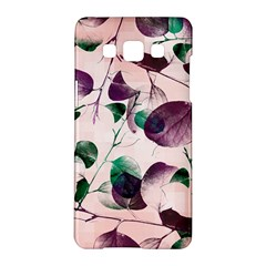 Spiral Eucalyptus Leaves Samsung Galaxy A5 Hardshell Case  by DanaeStudio