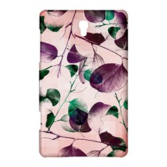 Spiral Eucalyptus Leaves Samsung Galaxy Tab S (8 4 ) Hardshell Case  by DanaeStudio