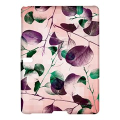 Spiral Eucalyptus Leaves Samsung Galaxy Tab S (10 5 ) Hardshell Case  by DanaeStudio
