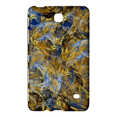 Antique Anciently Gold Blue Vintage Design Samsung Galaxy Tab 4 (7 ) Hardshell Case  by designworld65