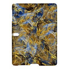 Antique Anciently Gold Blue Vintage Design Samsung Galaxy Tab S (10 5 ) Hardshell Case  by designworld65