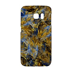 Antique Anciently Gold Blue Vintage Design Galaxy S6 Edge by designworld65