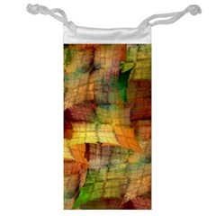 Indian Summer Funny Check Jewelry Bags by designworld65