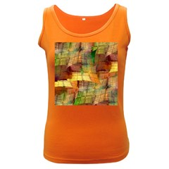 Indian Summer Funny Check Women s Dark Tank Top by designworld65