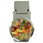Indian Summer Funny Check Money Clip Watches Front