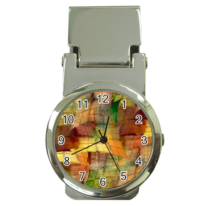 Indian Summer Funny Check Money Clip Watches