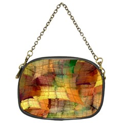 Indian Summer Funny Check Chain Purses (two Sides)  by designworld65