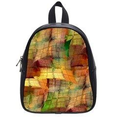 Indian Summer Funny Check School Bags (small)  by designworld65