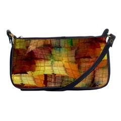 Indian Summer Funny Check Shoulder Clutch Bags by designworld65