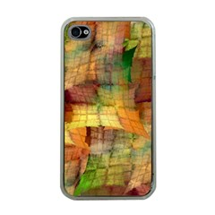 Indian Summer Funny Check Apple Iphone 4 Case (clear) by designworld65