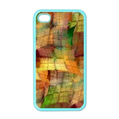 Indian Summer Funny Check Apple Iphone 4 Case (color) by designworld65