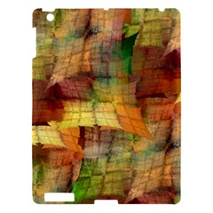 Indian Summer Funny Check Apple Ipad 3/4 Hardshell Case by designworld65