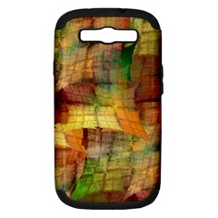 Indian Summer Funny Check Samsung Galaxy S Iii Hardshell Case (pc+silicone) by designworld65
