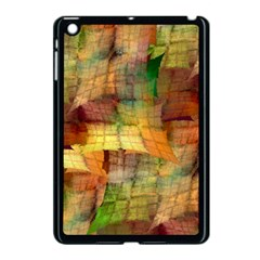 Indian Summer Funny Check Apple Ipad Mini Case (black) by designworld65