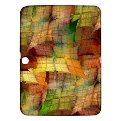Indian Summer Funny Check Samsung Galaxy Tab 3 (10 1 ) P5200 Hardshell Case  by designworld65