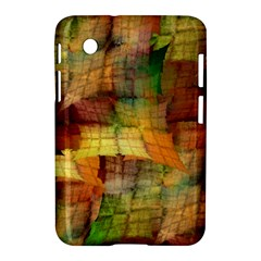 Indian Summer Funny Check Samsung Galaxy Tab 2 (7 ) P3100 Hardshell Case  by designworld65