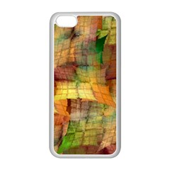 Indian Summer Funny Check Apple Iphone 5c Seamless Case (white) by designworld65