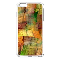 Indian Summer Funny Check Apple Iphone 6 Plus/6s Plus Enamel White Case by designworld65