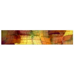 Indian Summer Funny Check Flano Scarf (small) by designworld65