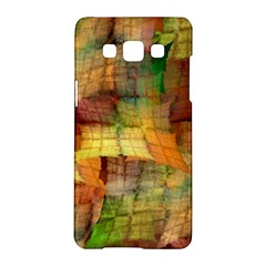 Indian Summer Funny Check Samsung Galaxy A5 Hardshell Case  by designworld65