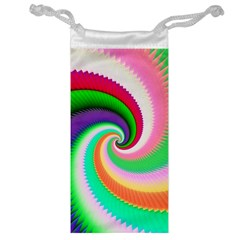 Colorful Spiral Dragon Scales   Jewelry Bags by designworld65