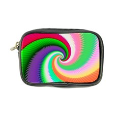Colorful Spiral Dragon Scales   Coin Purse by designworld65