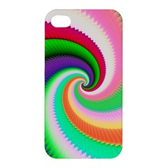 Colorful Spiral Dragon Scales   Apple Iphone 4/4s Hardshell Case by designworld65